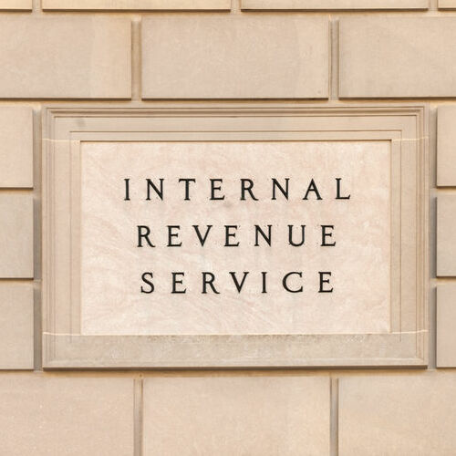 IRS Building Where IRS Seizure Decisions are Made